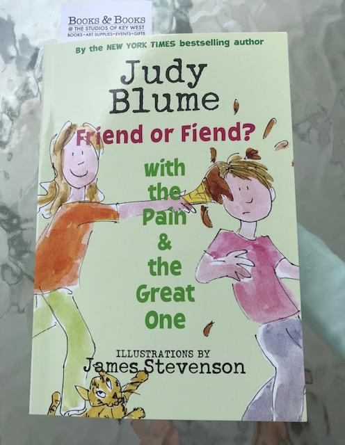 Judy Blume 2018 Friend or Fiend
