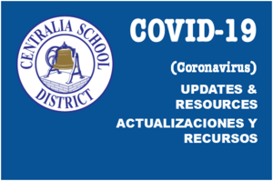 COVID 19 Updates and resources header