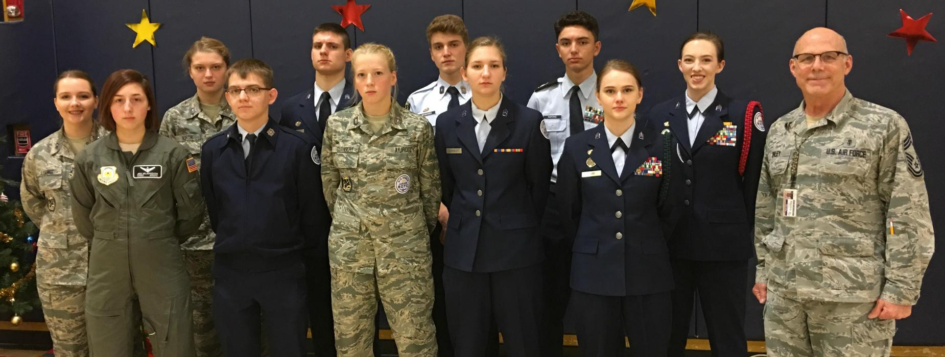 Norwin Air Force Junior ROTC Cadets