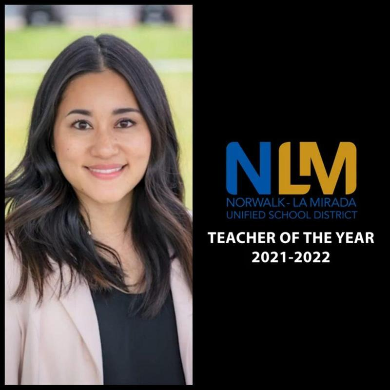 Ms. Annie Chen named District Teacher of the Year Featured Photo