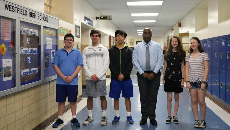 WHS students earn perfect scores on SAT subject tests in May 2018.