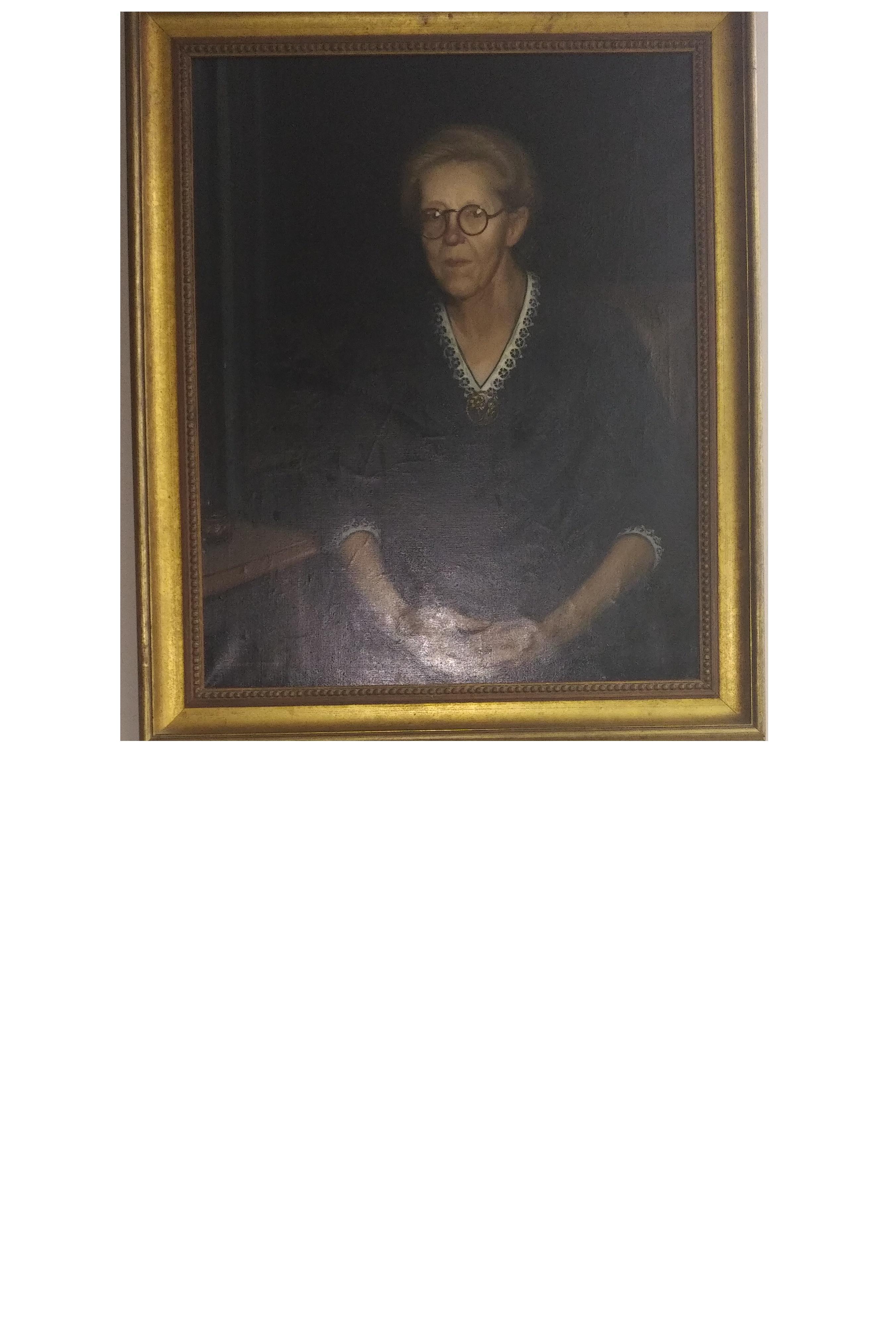Portrait of Myra S. Barnes