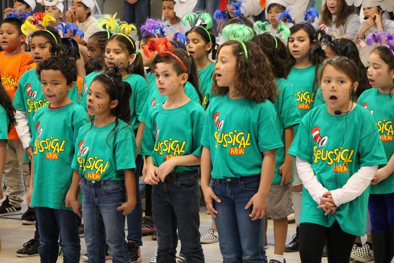 Voorhies Students Celebrate Reading with Dr. Suess Musical Featured Photo