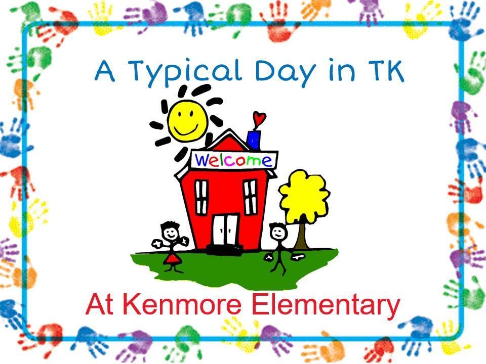 A day in transitional kindergarten.