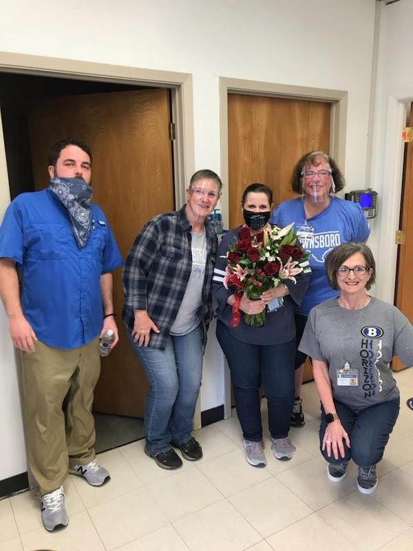 Teacher of the Year:  Mrs. Robin Baker Featured Photo