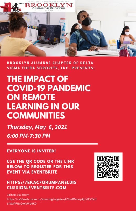 The Impact of Covid-19 Pandemic on Remote Learning in our Communities