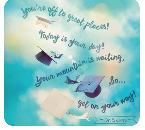 YOU'RE OFF TO GREAT PLACES ! TODAY IS YOUR DAY ! Image