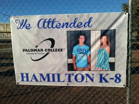 Banner Brother and sister currently attending Palomar College