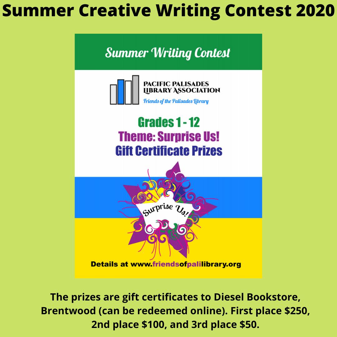 Summer Creative Writing Contest
