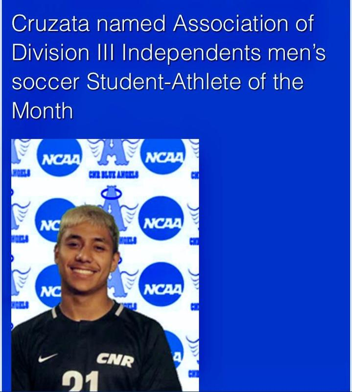 Congratulations Xavier Cruzata '17, Division III Student Athlete of the Month! Thumbnail Image