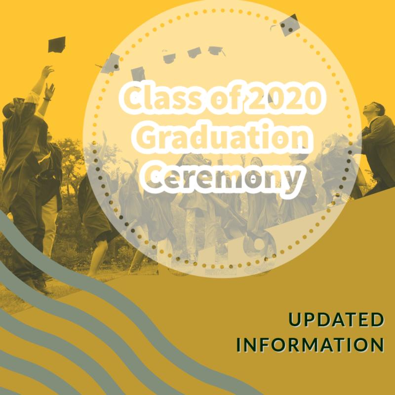 Class of 2020 Graduation Update Thumbnail Image