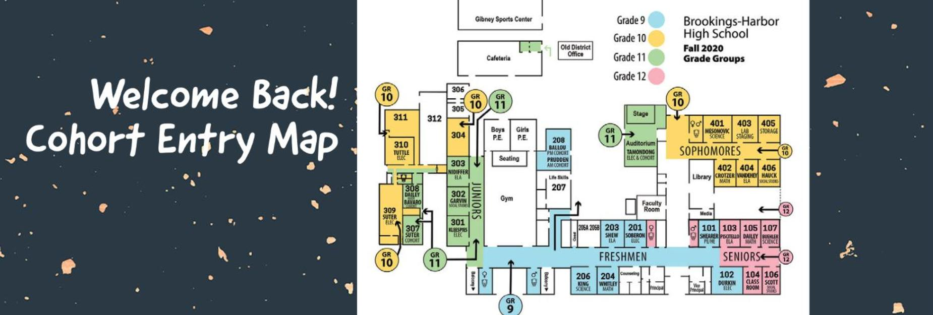 BHHS entry map