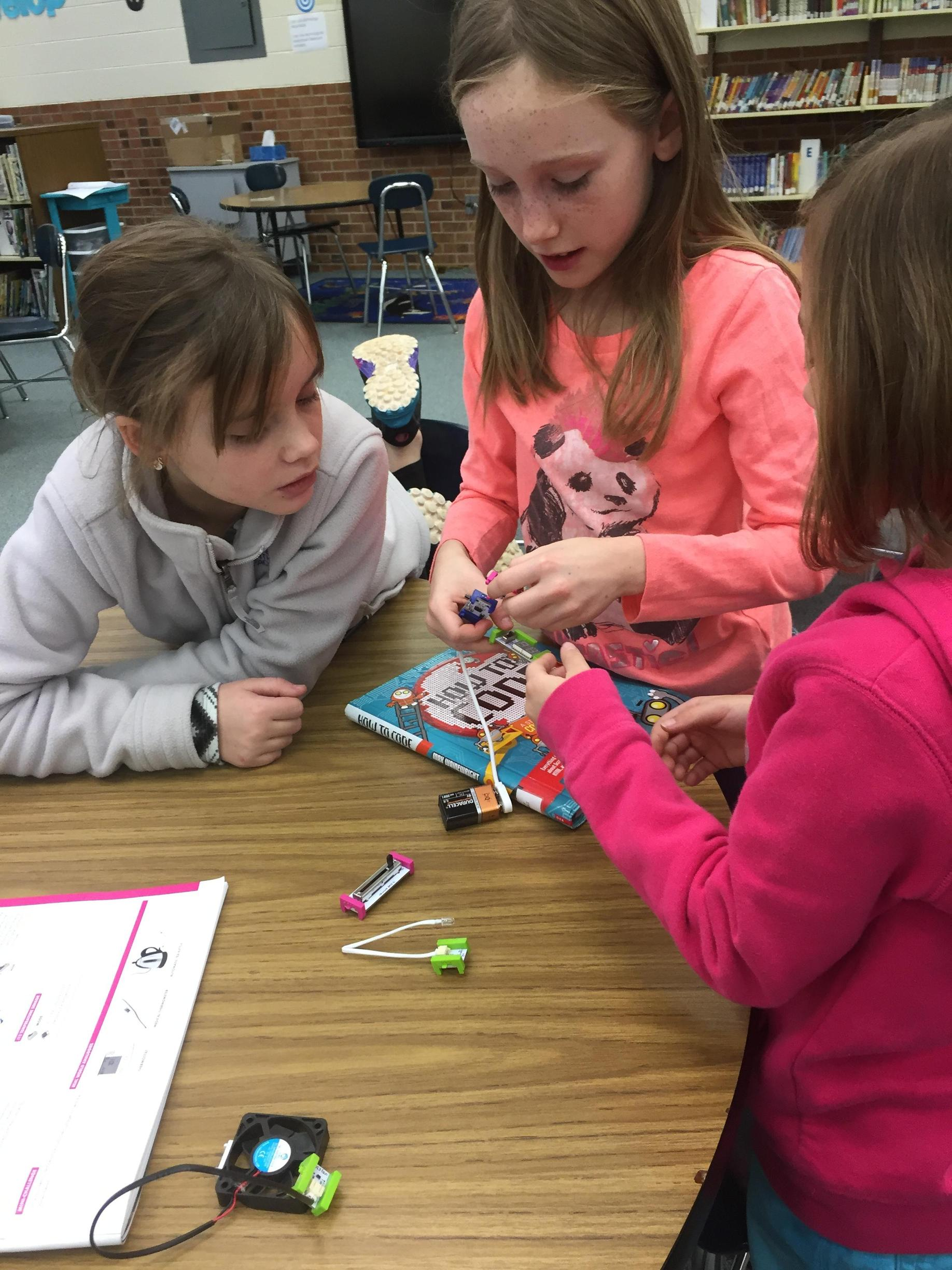 Coding with littlebits