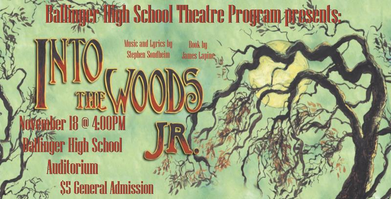 BHS Theatre Program presents: Into the Woods Jr. Featured Photo