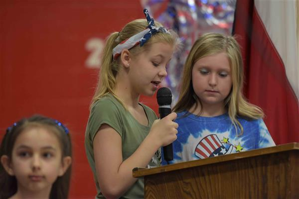 Veterans Day at Dabbs Elementary