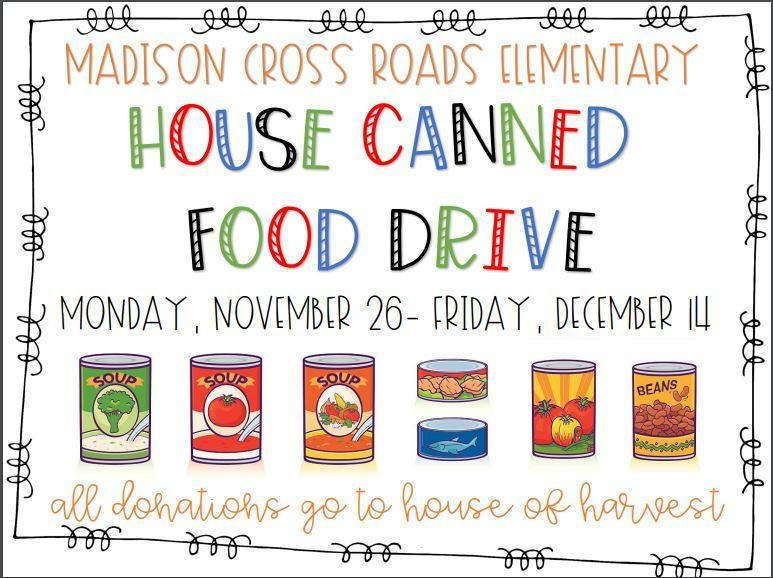 House Canned Food Drive