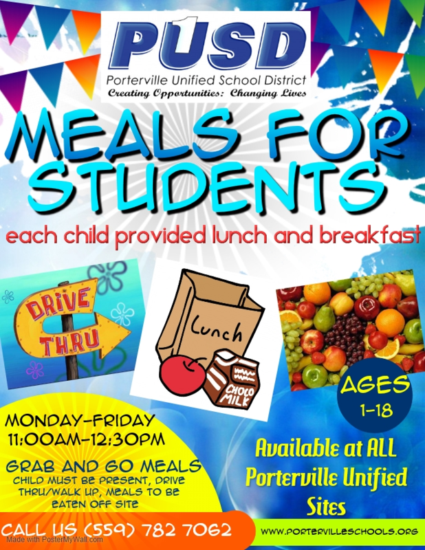 Meals for Students