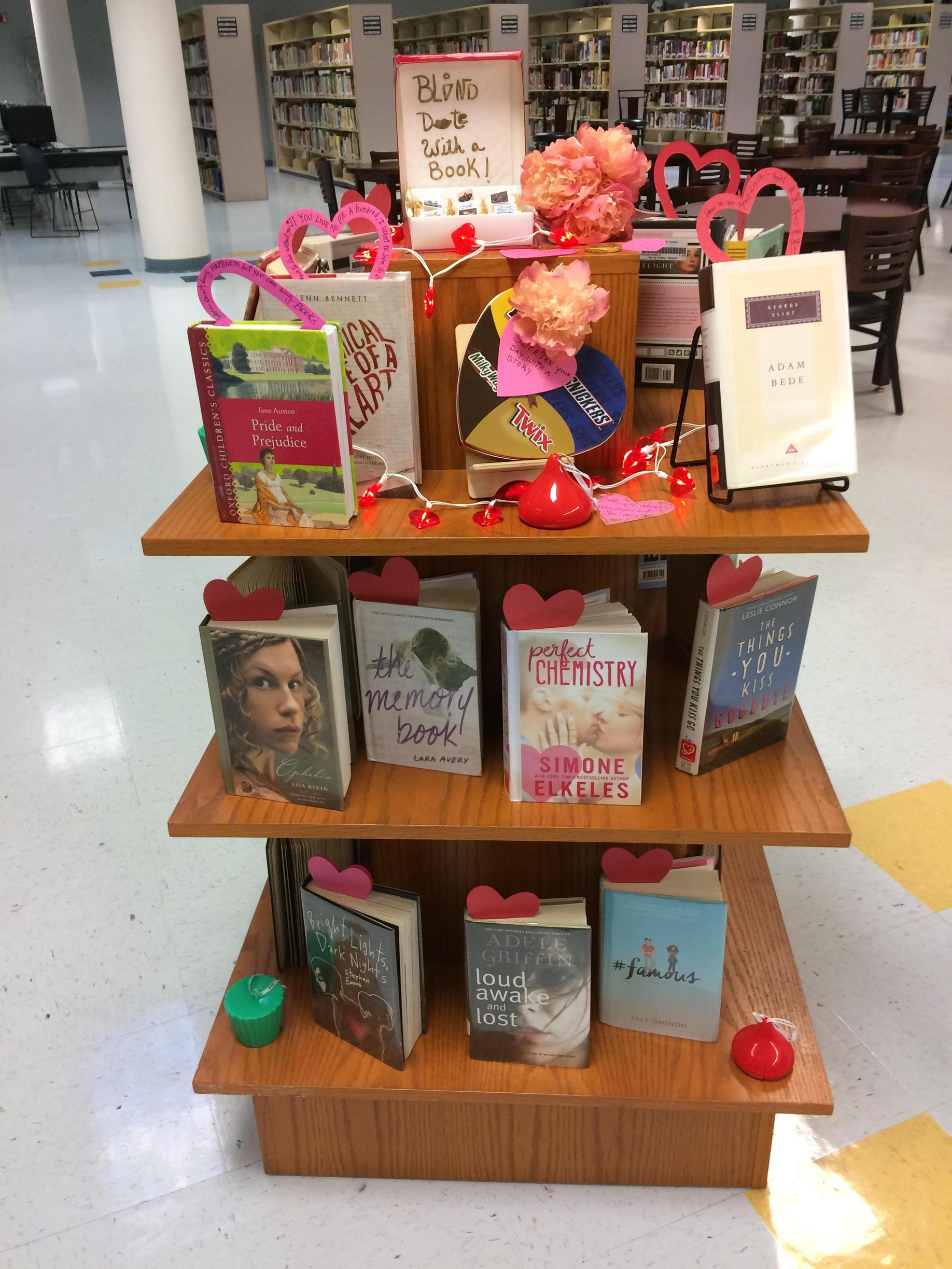 In love with a great book display