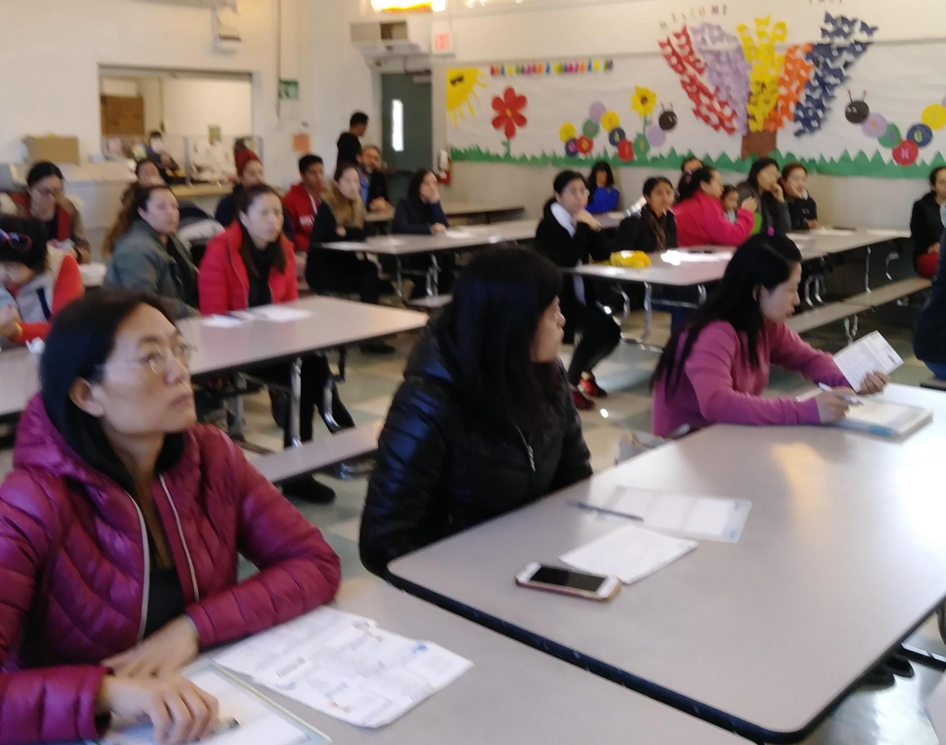 iReady Parent meeting at Hillcrest