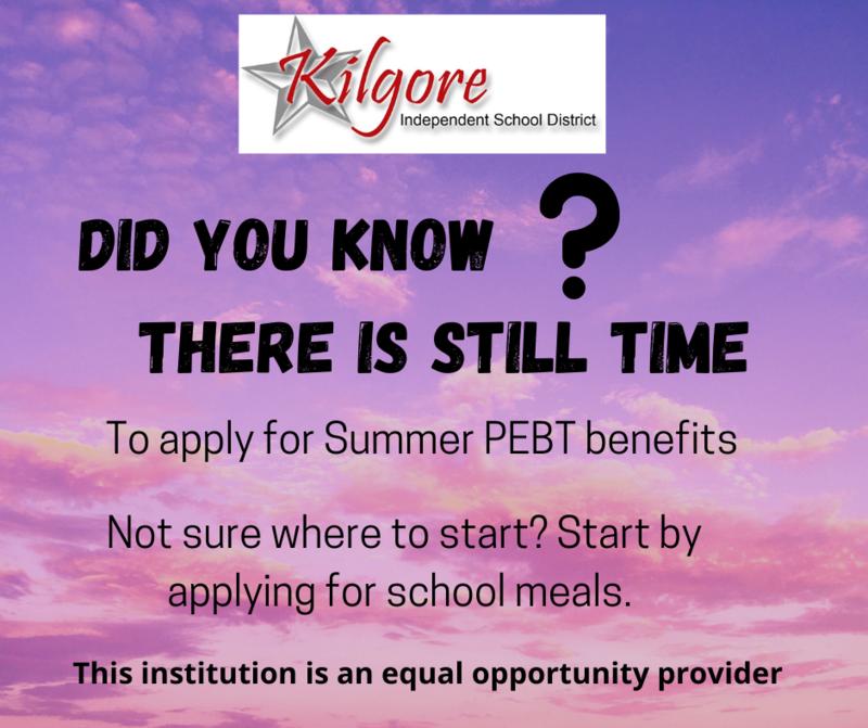 Apply for Summer EBT Benefits Featured Photo