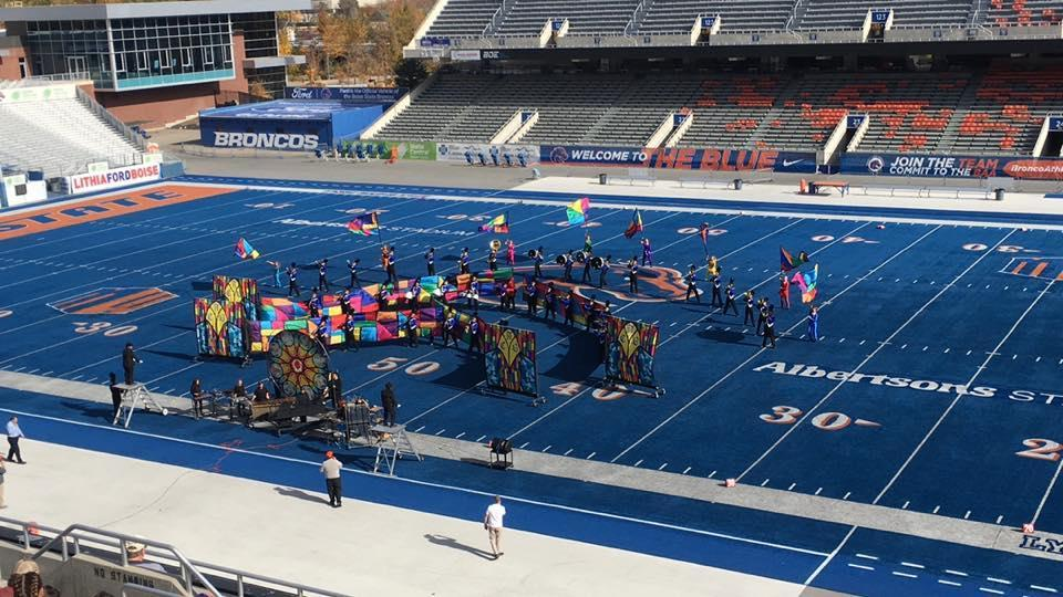Marching Band at Boise State