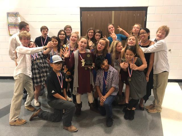 First Place Junior High OAP! Thumbnail Image