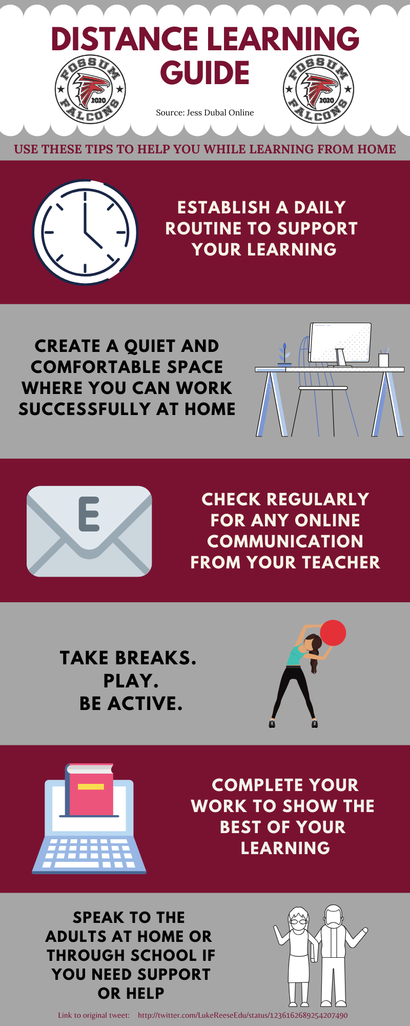 Distance Learning Tips