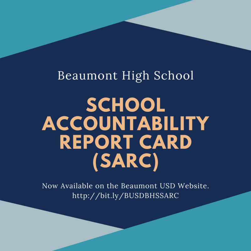BHS School Accountability Report Card (SARC) Now Available Featured Photo
