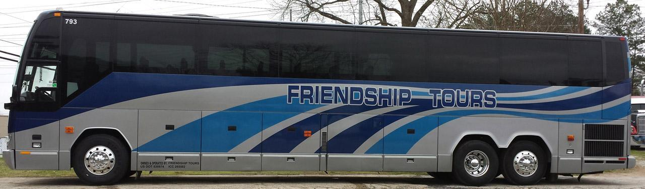 Friendship Tours Bus