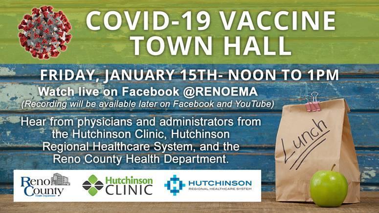 Reno County COVID-19 Vaccine Town Hall Thumbnail Image