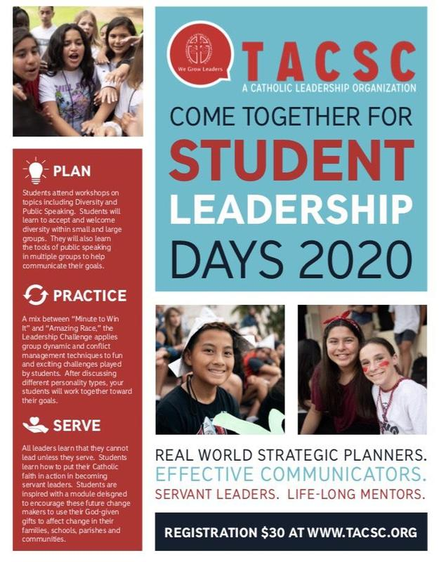 TACSC Student Leadership Day for 5-8th Grade Thumbnail Image