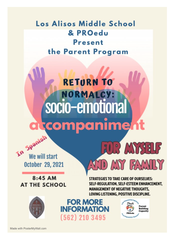 Social Emotional Parent Program -  Starts 10/29 @ 8:45 AM Featured Photo