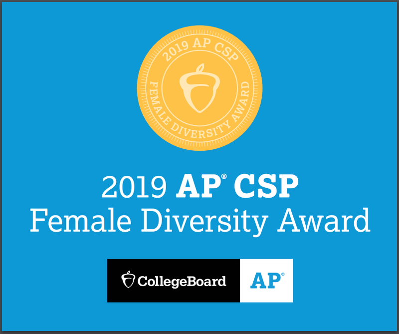 Hillel Academy of Pittsburgh Earns College Board AP® Computer Science Female Diversity Award Featured Photo