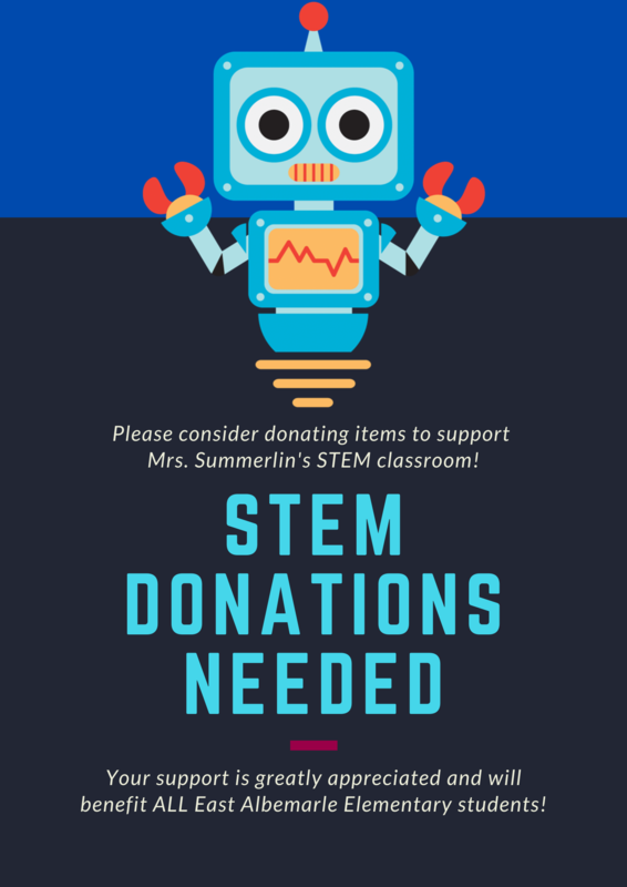STEM Donations Needed Featured Photo