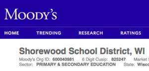Moody's homepage