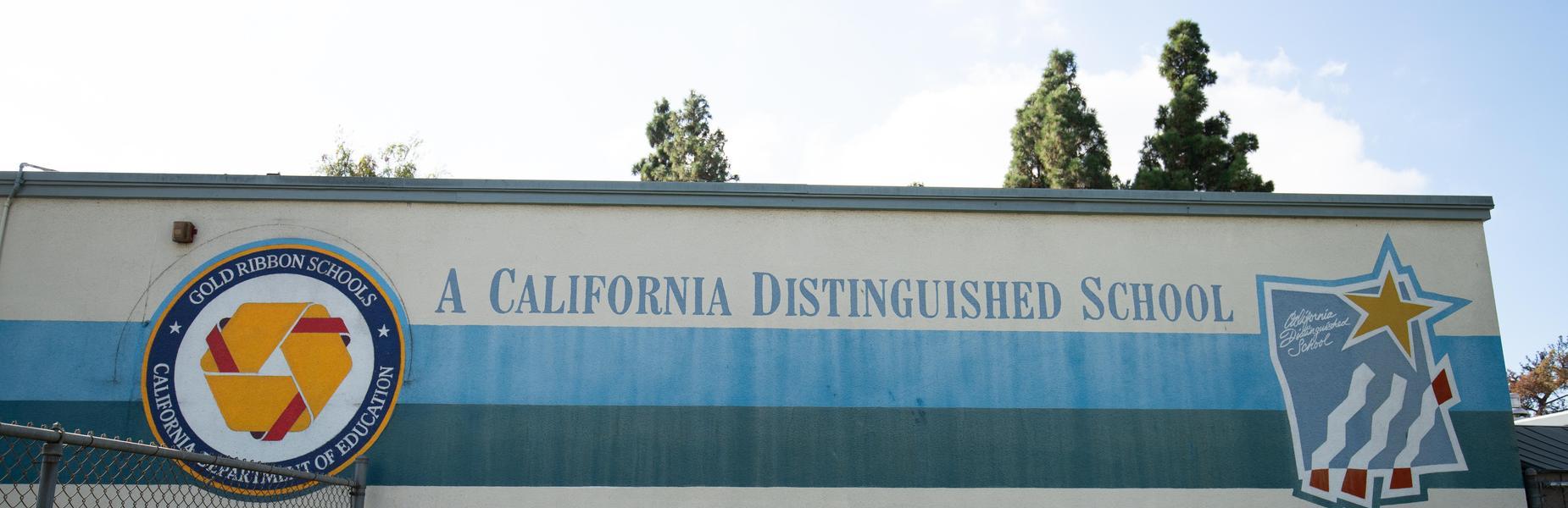 Ynez is a California Distinguished School