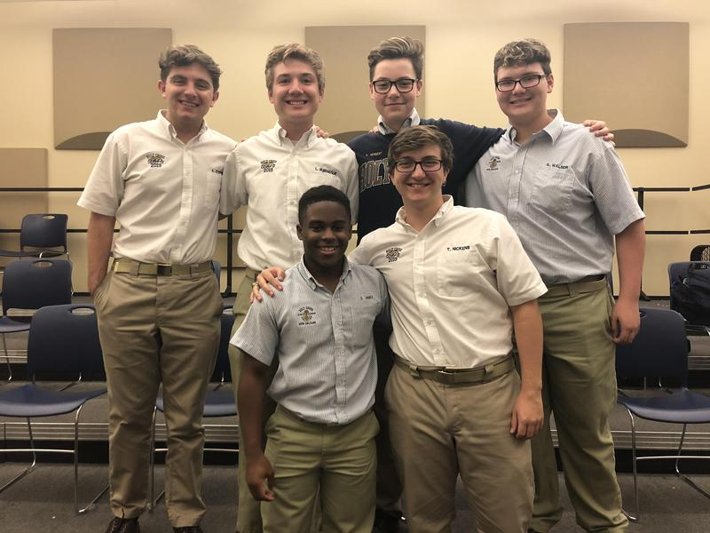 Six Choir Members Selected for Louisiana All-State Choruses Featured Photo