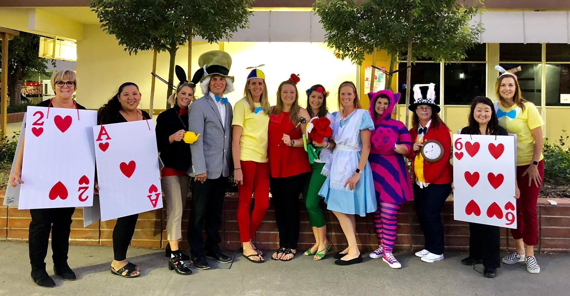 Morse Elementary Staff - Halloween 2019