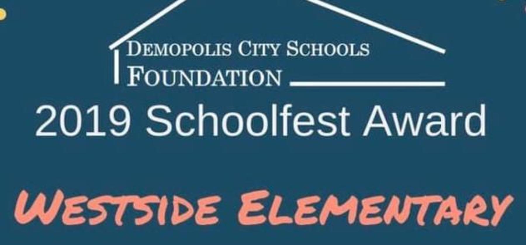 schoolfest award