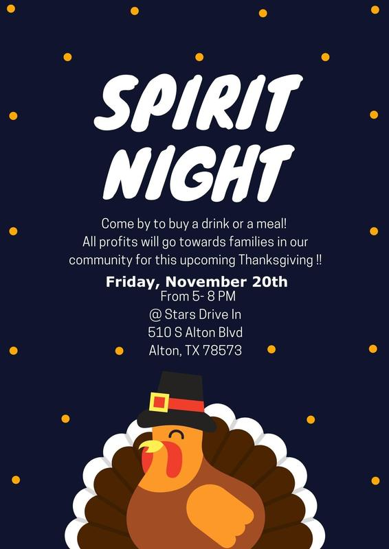 Student Council Hosts a Spirit Night Fundraiser Featured Photo