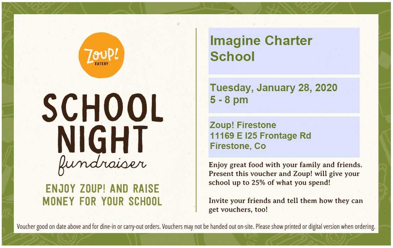 Zoup! Restaurant Night - Tuesday, January 28, 5PM - 8PM Featured Photo