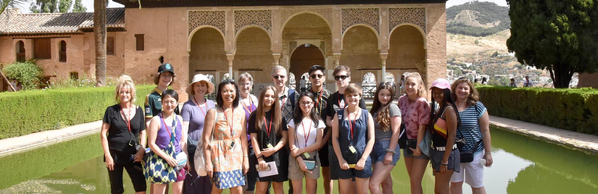 PCS group at Alhambra, Granada, Spain 2018