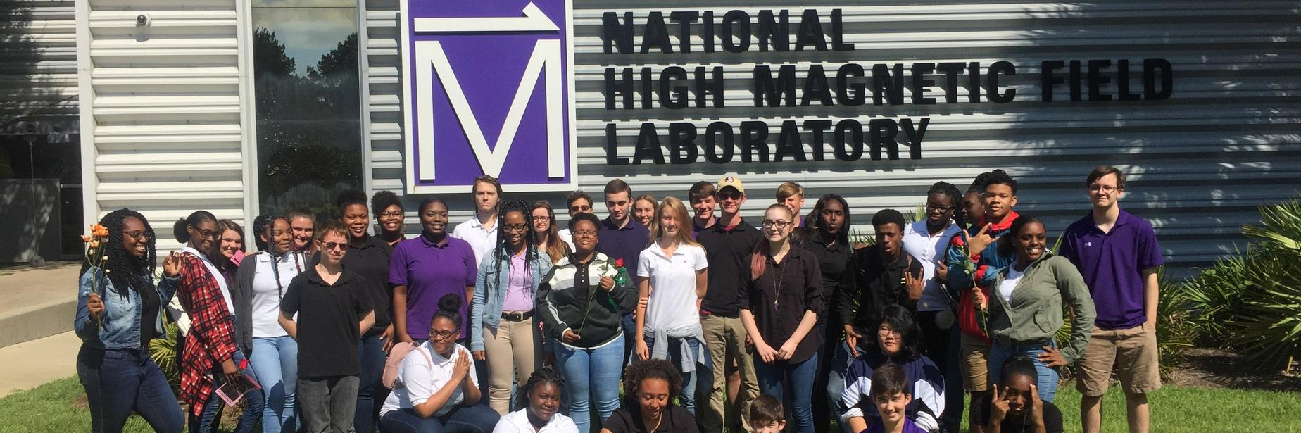 Students at National High Magnetic Field Laboratory