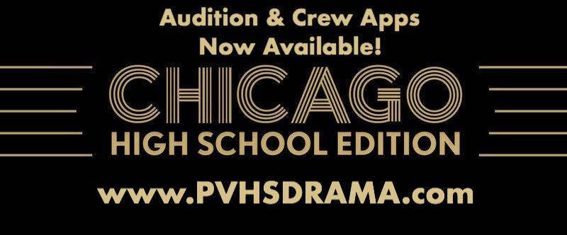 PVHS Drama | Chicago Auditions & Stage Crew Apps Thumbnail Image