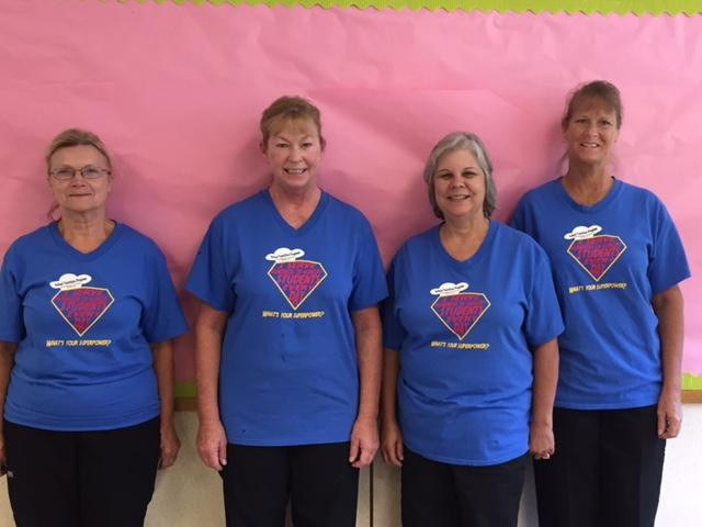 Our Fabulous Cafeteria Staff!