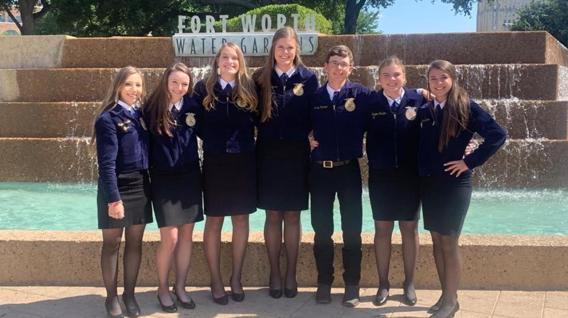FFA at State in Fort Worth