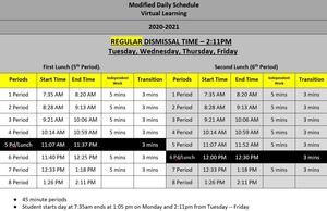 Regular dismissal new schedule.JPG