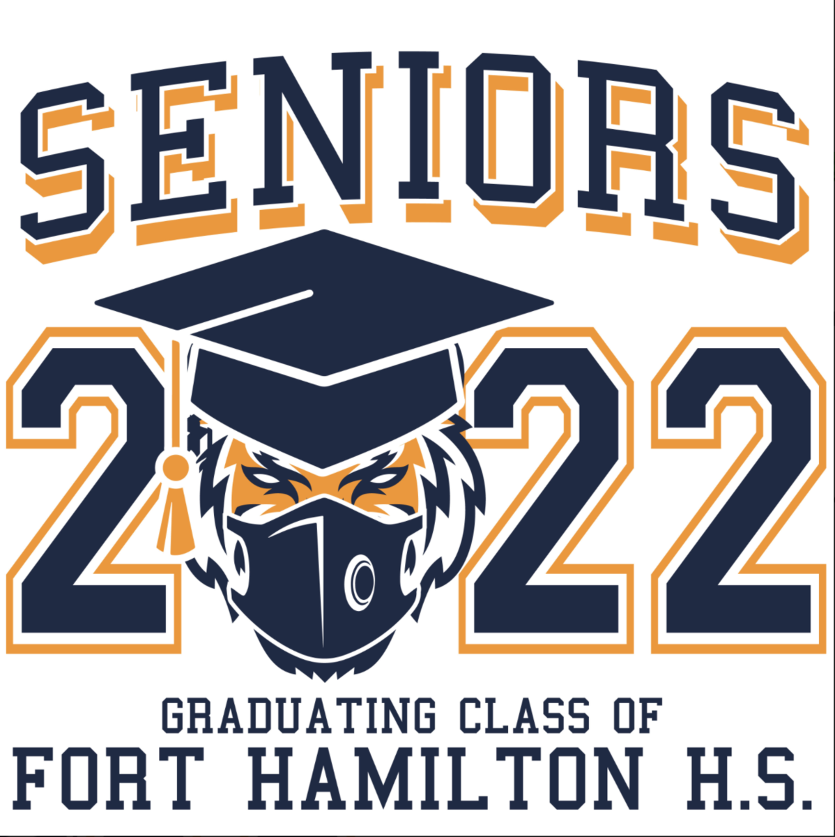 An image of the 2022 Senior class tshirt
