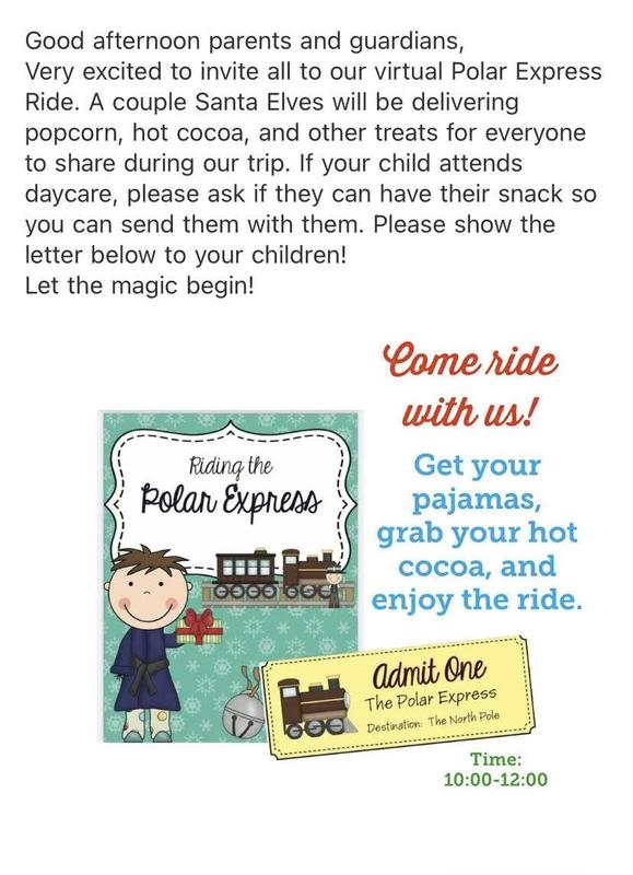 Letter to parents about visit