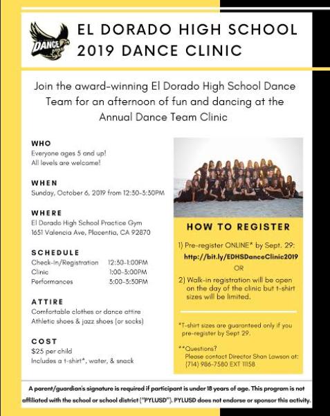 El Dorado Dance Clinic